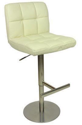 Allegro Deluxe Leather Bar Stool