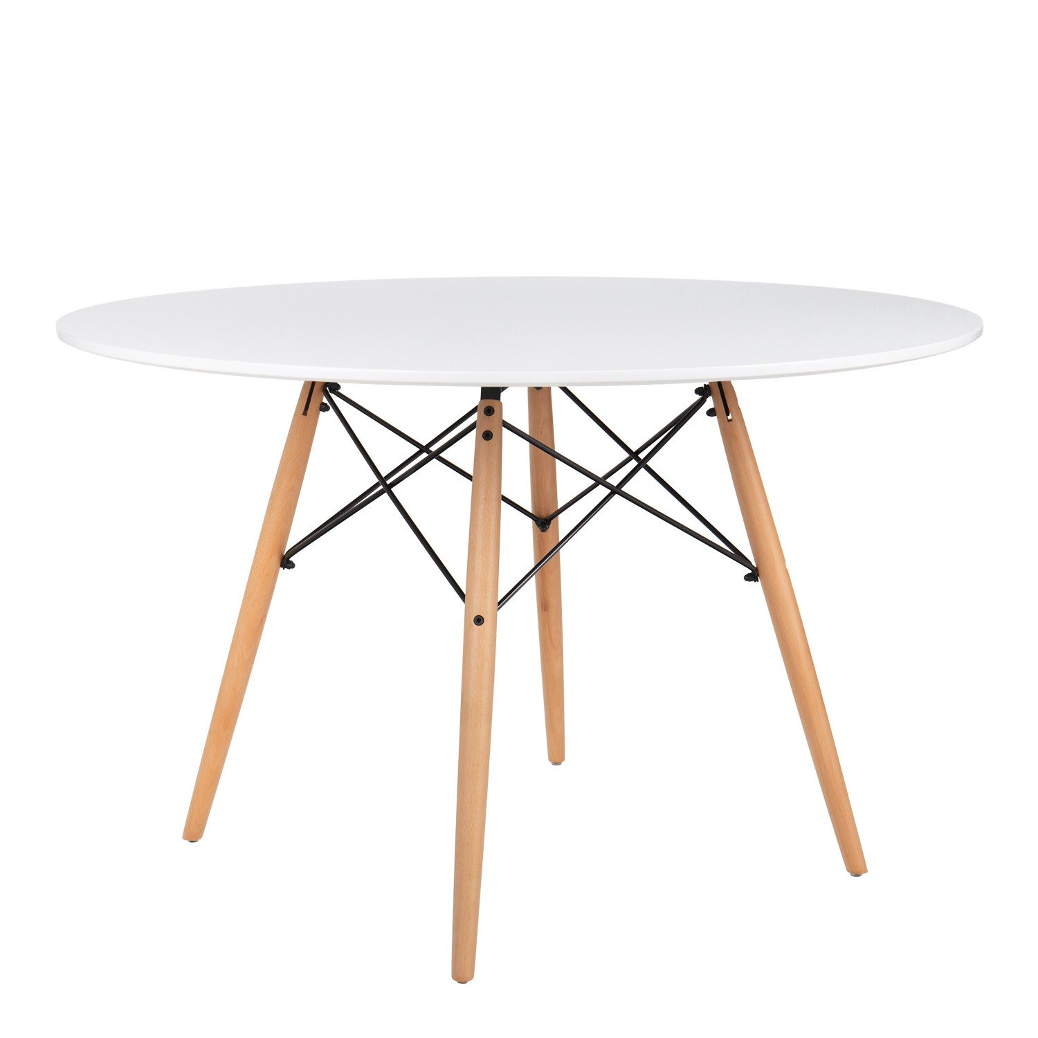Charles Ray Eames Style 120cm White