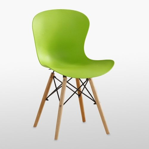 DS Ribbed Eiffel Chair Green